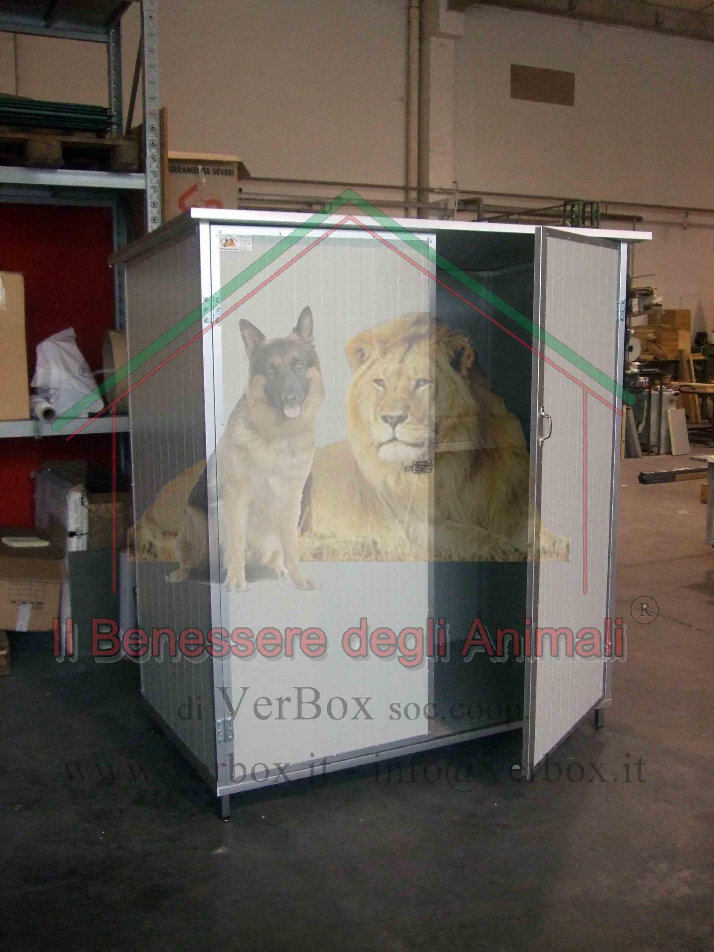 Armadiature Per Esterni armadio da esterno in pannello coibentato | verbox